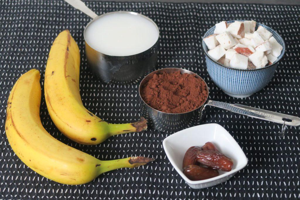 Choco coco vegan ijstaartjes ingrediënten
