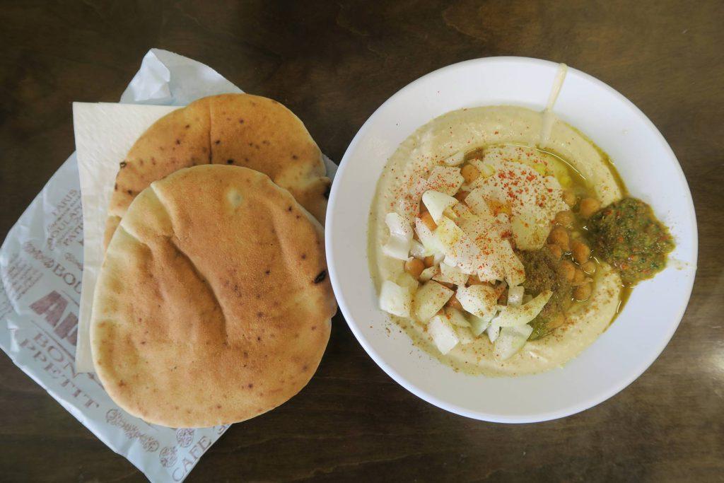 Hummus Magen David - Vegan Hotspots Tel Aviv