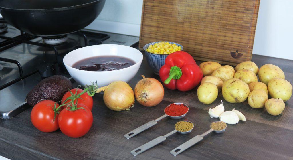 Mexicaanse groentemix ingrediënten