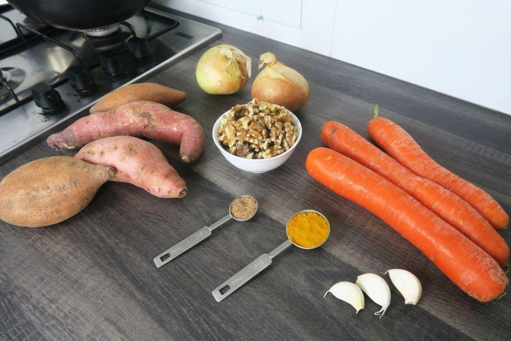 Vegan hutspot ingrediënten