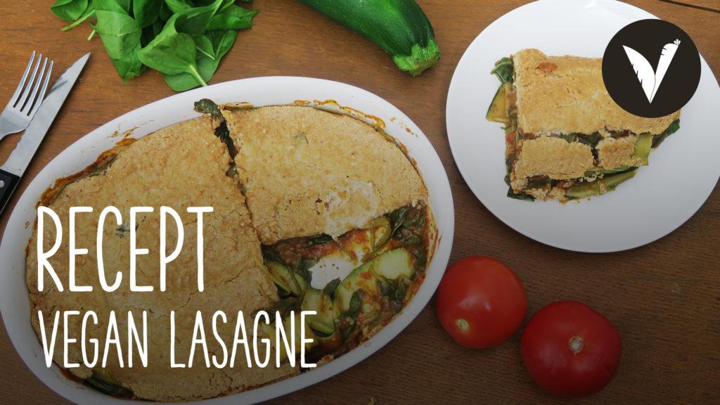Video Vegan lasagne