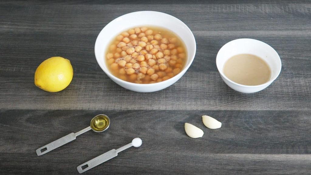 Hummus ingrediënten