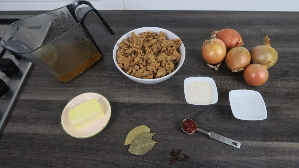 Vegan hachee ingrediënten