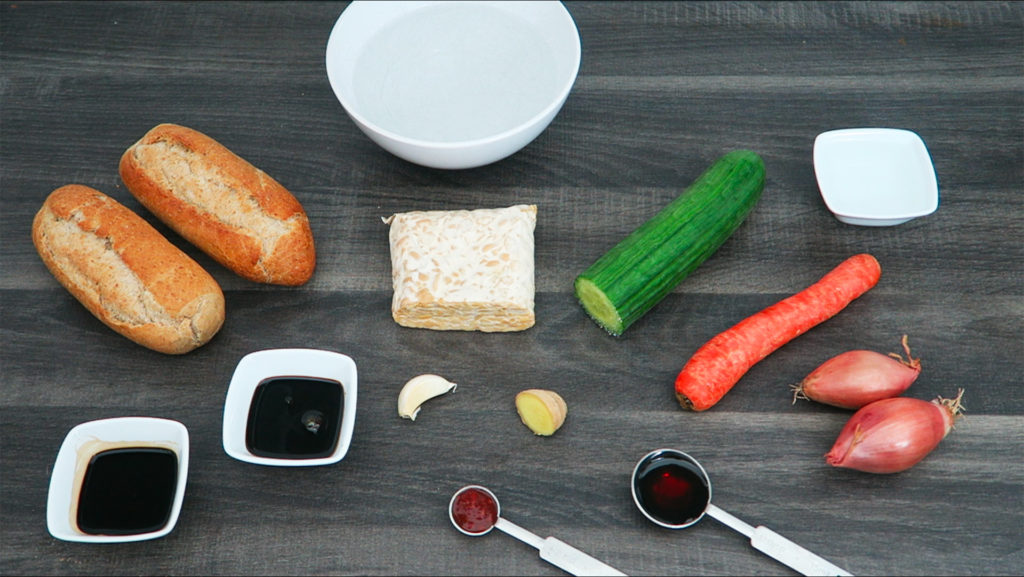 Broodje tempeh ingrediënten