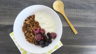 gezonde ontbijt recepten granola