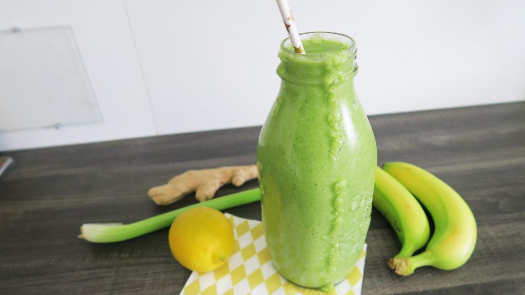 Groene smoothie gezonde ontbijt recepten