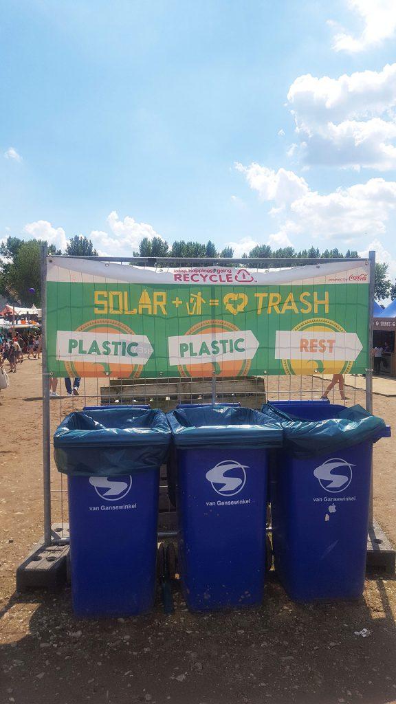 Plastic op Solar Festival