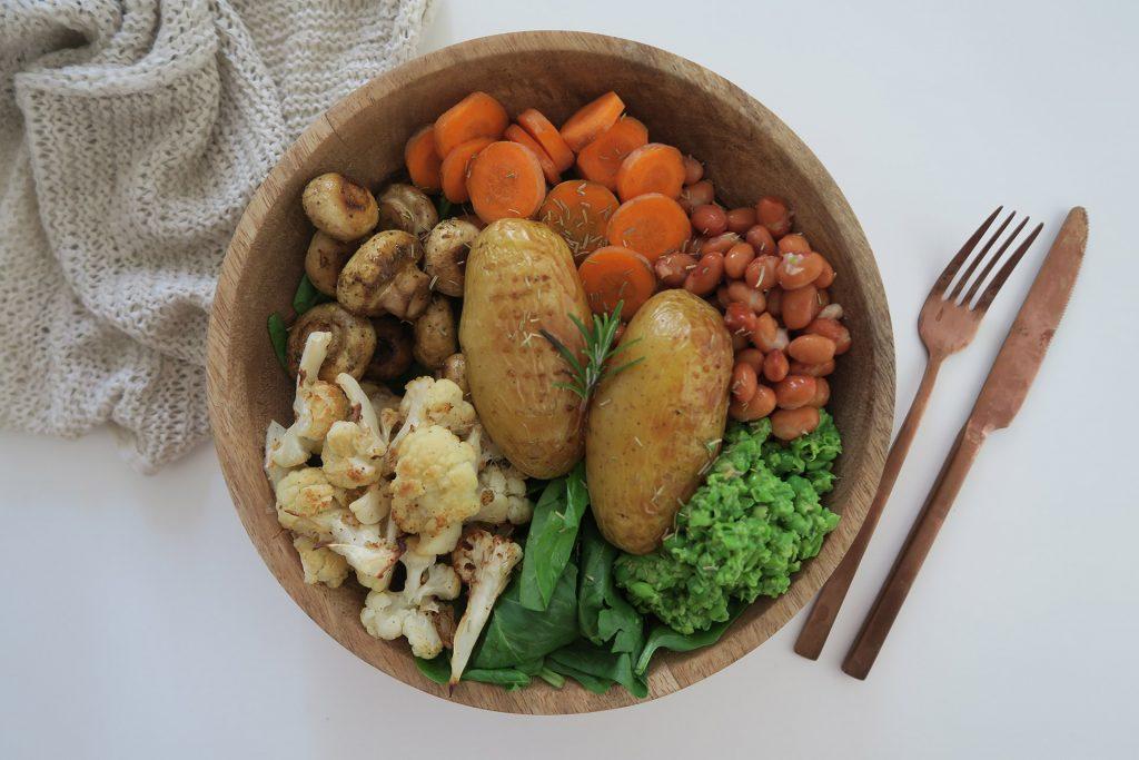 Vegan Hollandse maaltijd recept