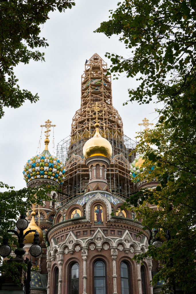 Sint Petersburg - Kathedraal