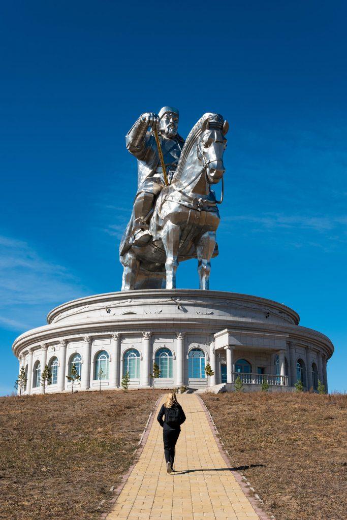 Genghis Kahn Standbeeld Mongolië