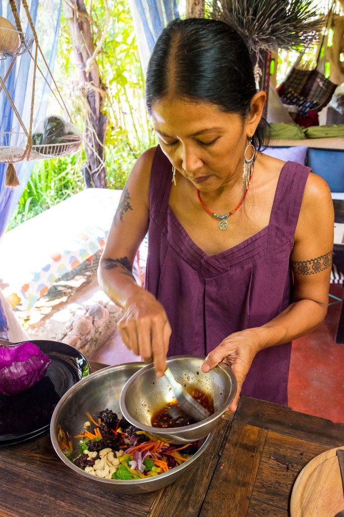 Vegan kookworkshop Pai Thailand