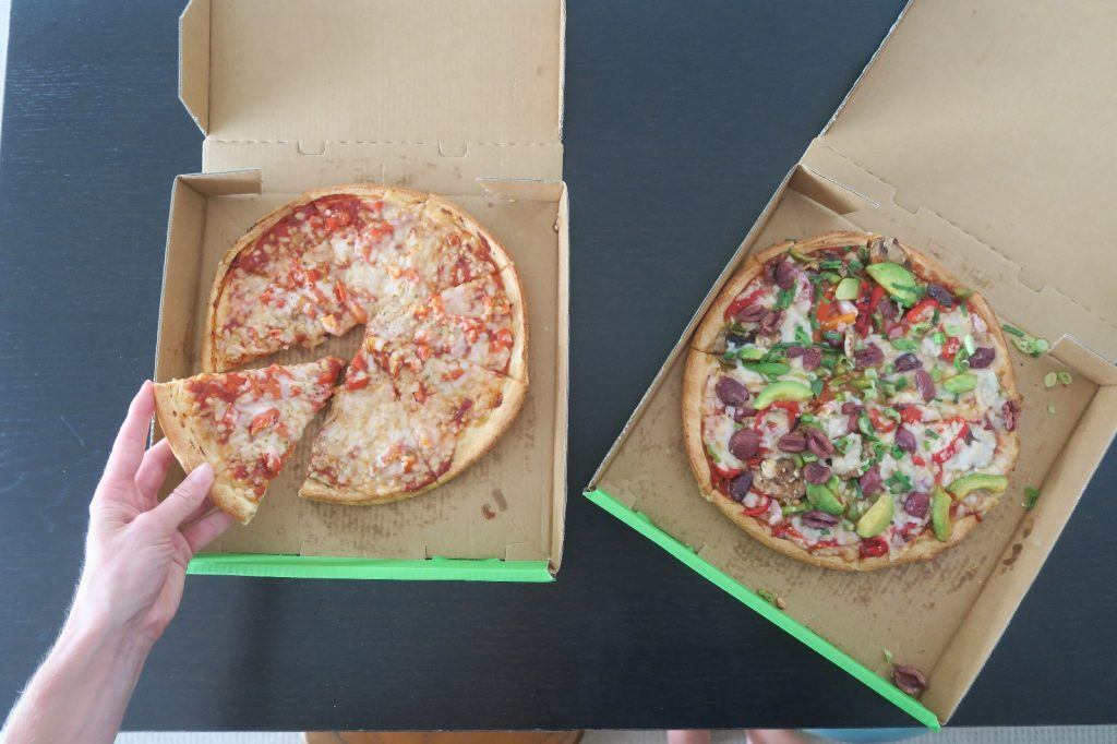 vegan in Sydney (Domino's Pizza)