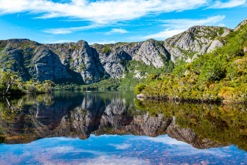 Water Crater Lake Tasmanië