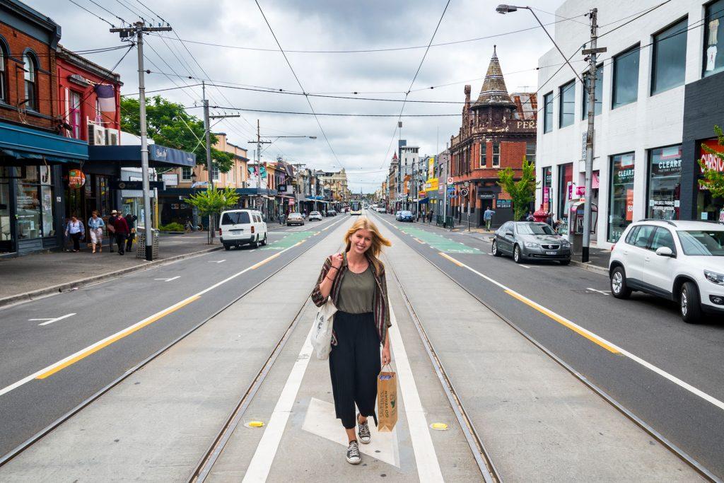 Brunswick Street Fitzroy Melbourne