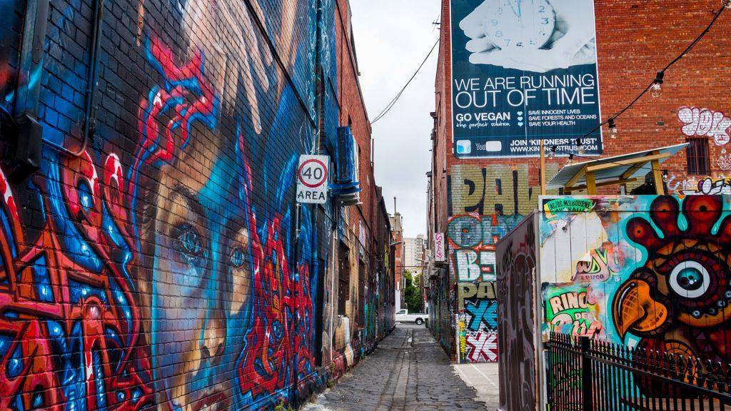 Vegan poster Melbourne