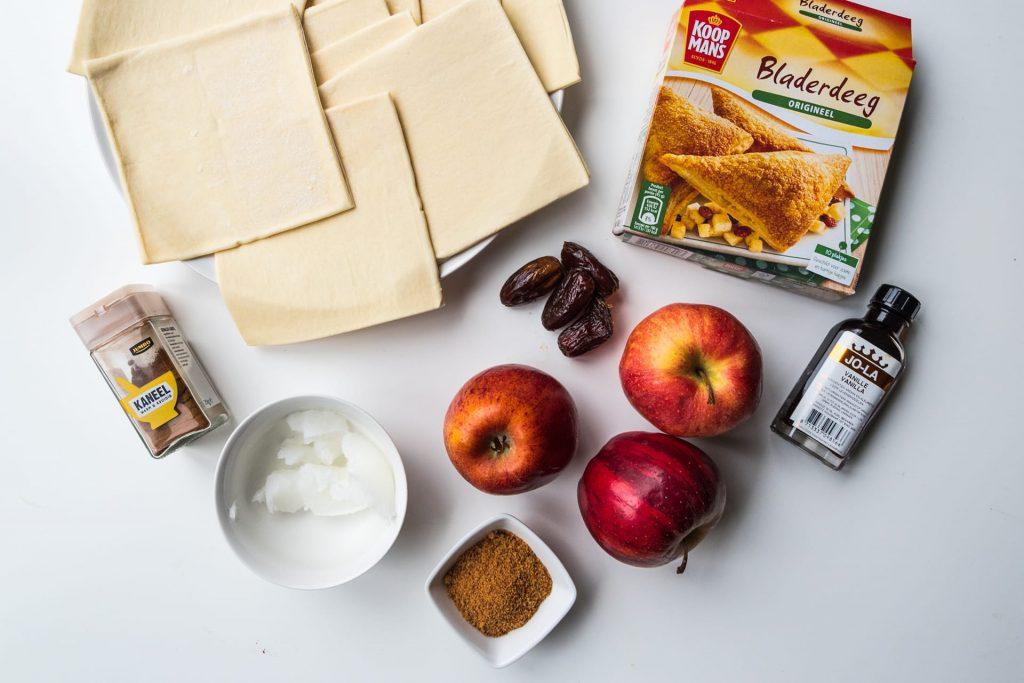 Vegan appelflappen ingrediënten