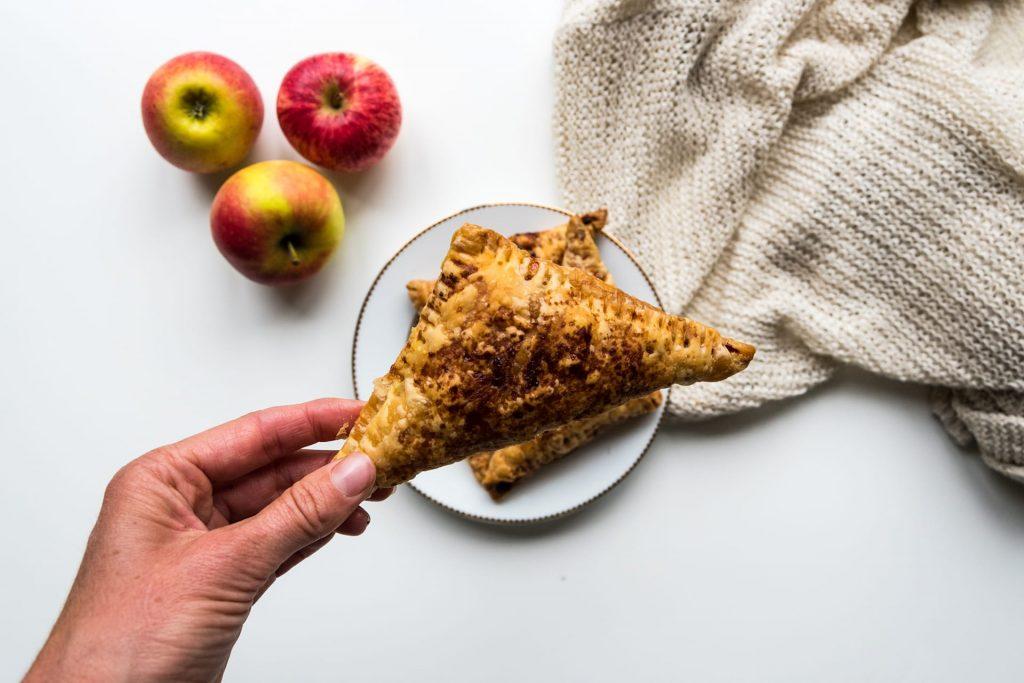 Vegan appelflappen