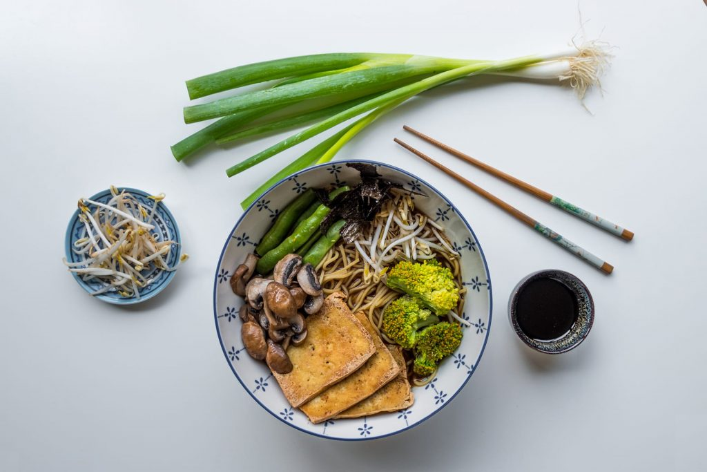 Vegan ramen recept