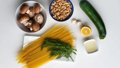 Pasta in romige dillesaus ingrediënten