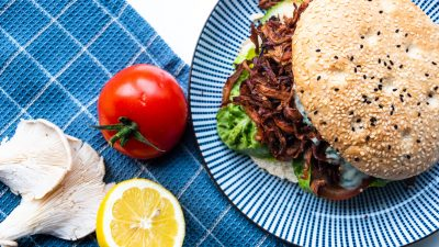 Vegan Broodje Shoarma Recept