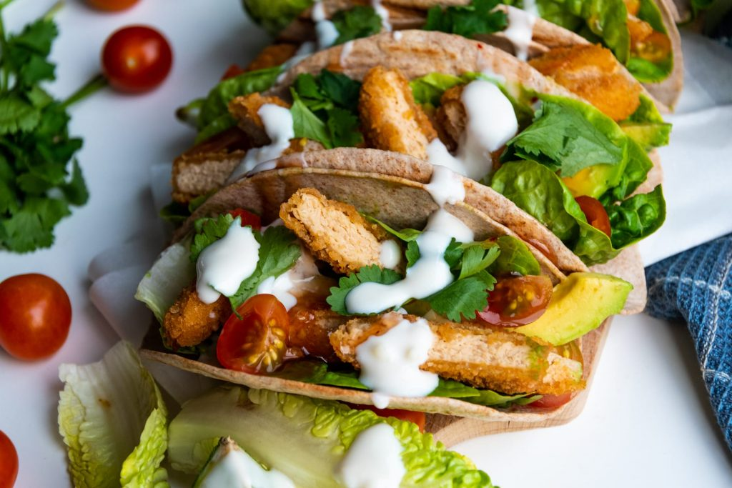Vegan kip taco's recept