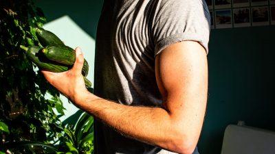 Vegan spieropbouw
