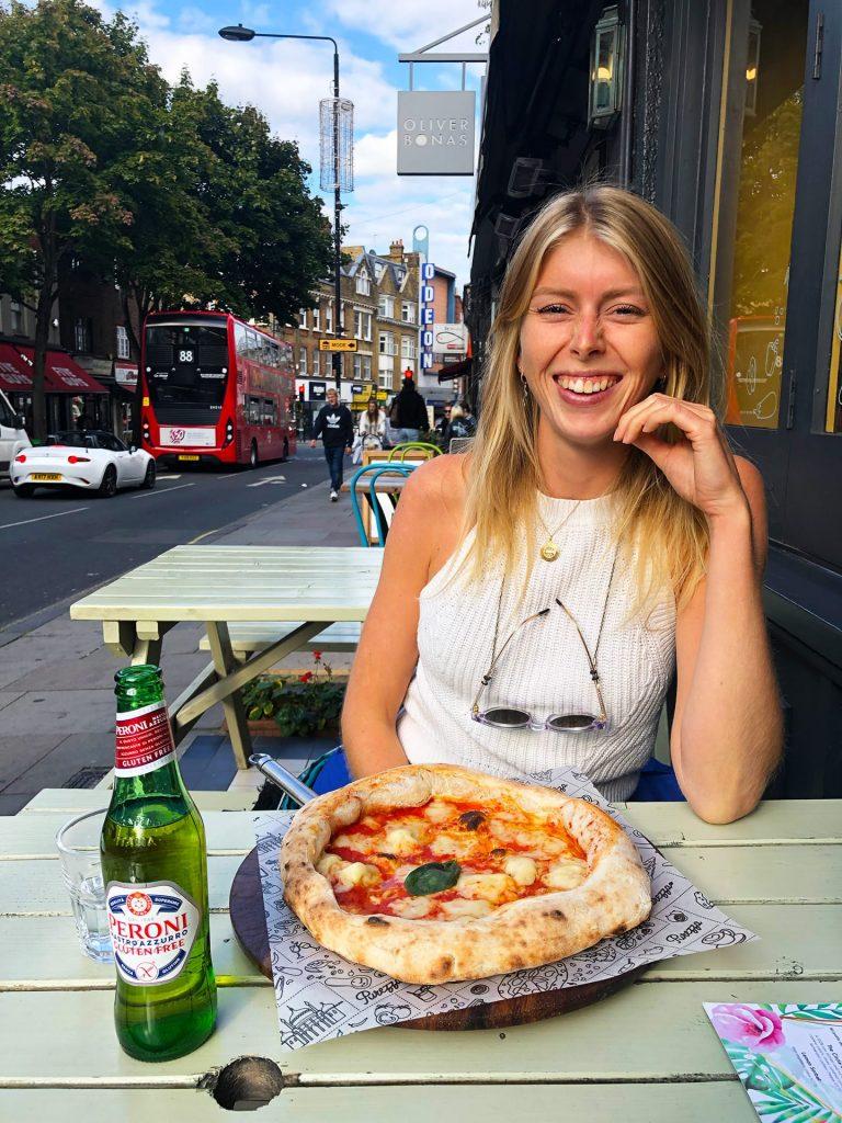 Vegan Pizza Londen