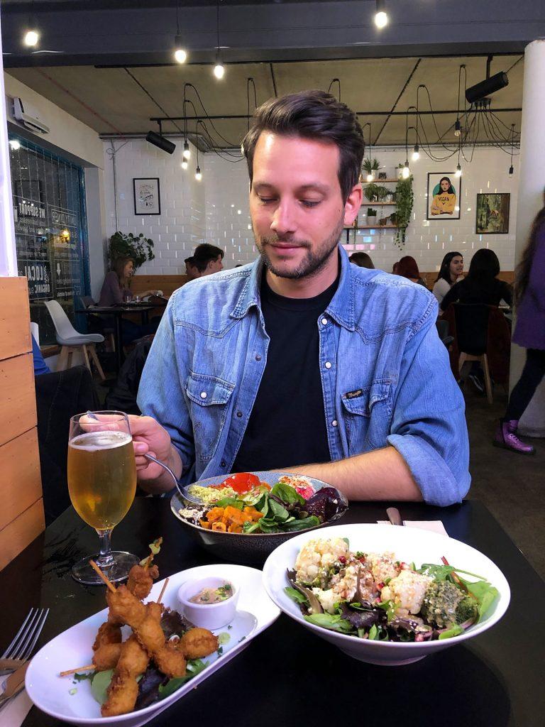 Vegan restaurant Londen