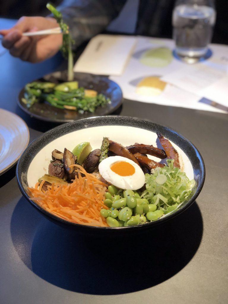 Wagamama Vegan in Londen