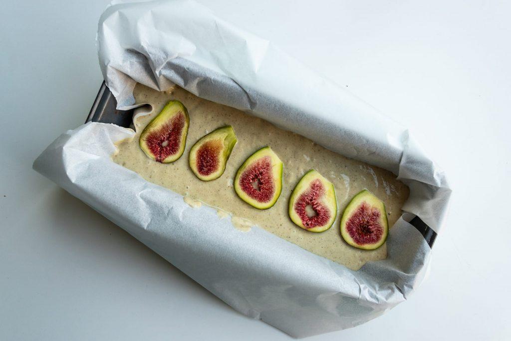Vegan vijgen cake recept