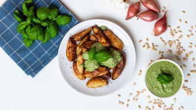Aardappels met pesto