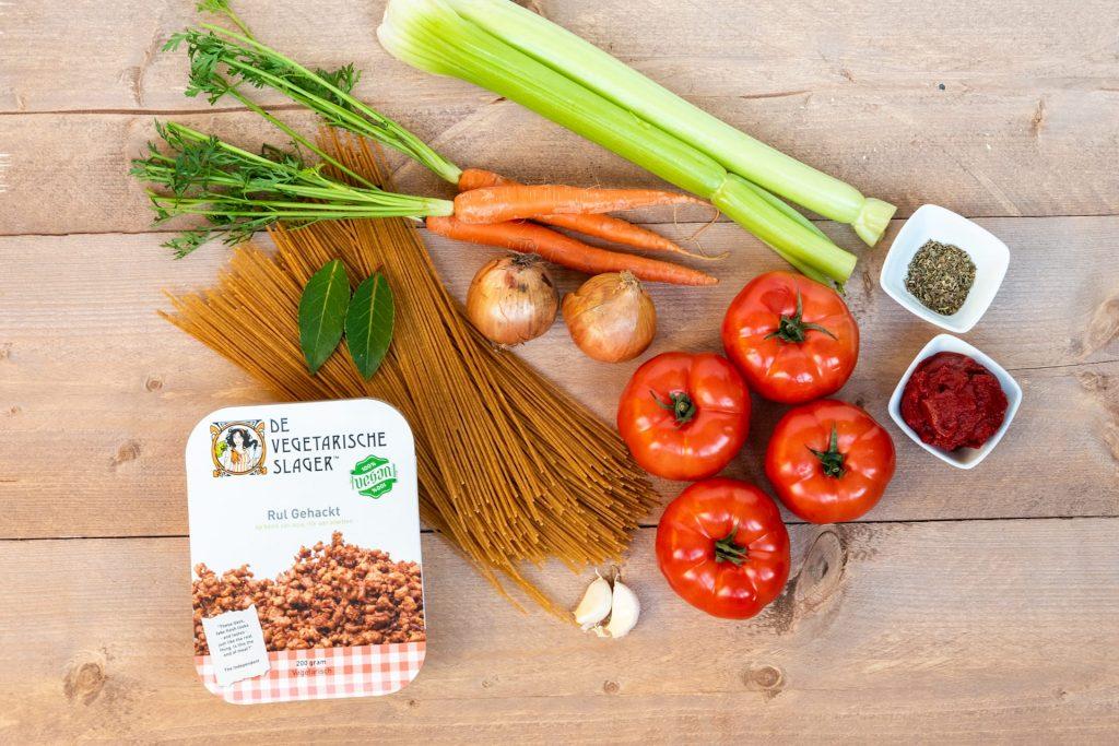 Vegan spaghetti bolognese recept