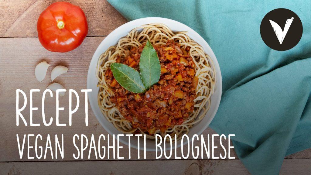 Video Vegan spaghetti bolognese