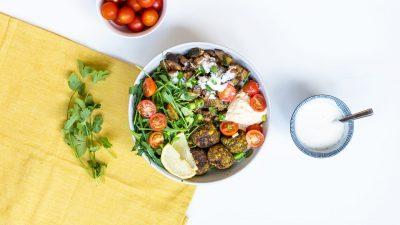Vegan couscous salade recept