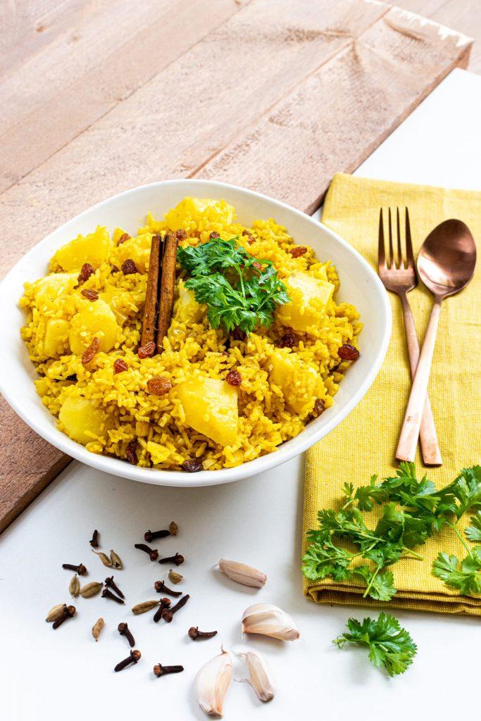 Arabische rijst recept