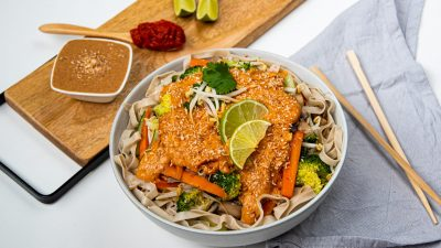 Rode curry recept